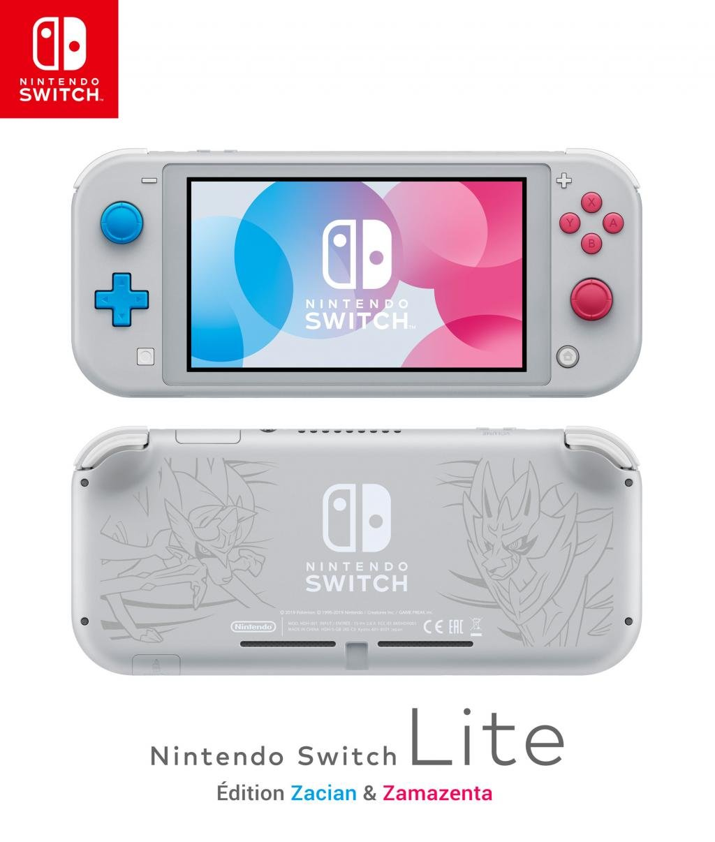 Console SWITCH LITE - Zacian & Zamazenta Edition
