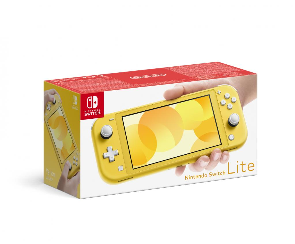 Console SWITCH LITE - Yellow_1