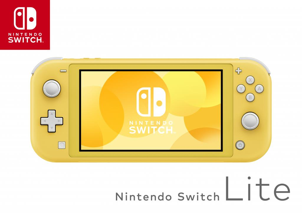 Console SWITCH LITE - Yellow_2