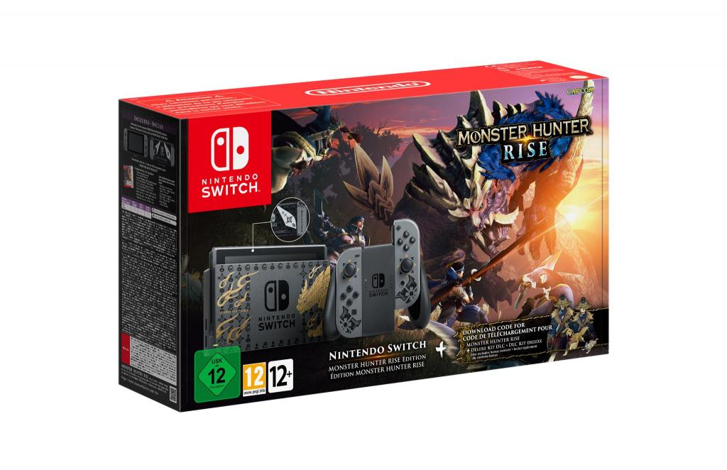Console SWITCH - Monster Hunter Rise Edition*_1
