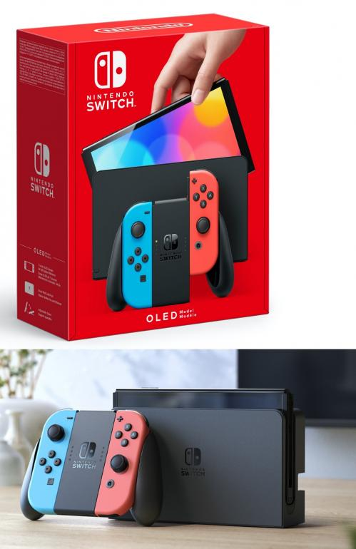 Console SWITCH OLED - Red & Blue