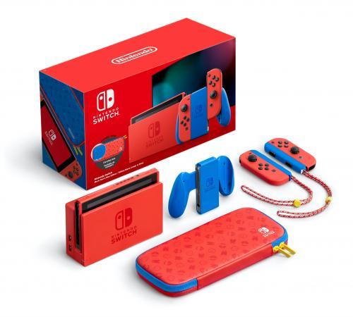 Console SWITCH - Mario Red & Blue Edition *