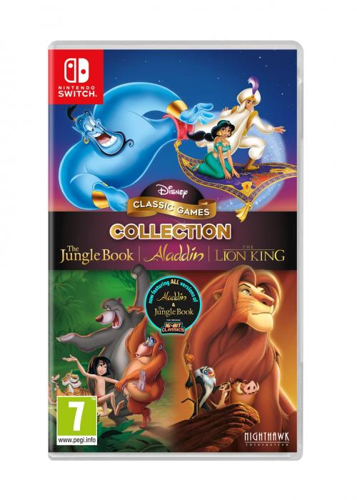 Disney Classic Games Collection: The Jungle Book, Aladdin and The Lion