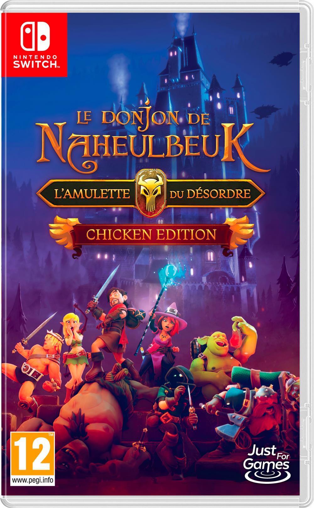 Le Donjon de Naheulbeuk : L'Amulette du Désordre - Chicken Edition_1