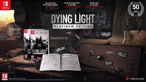 Dying Light Platinum Edition (Box UK)