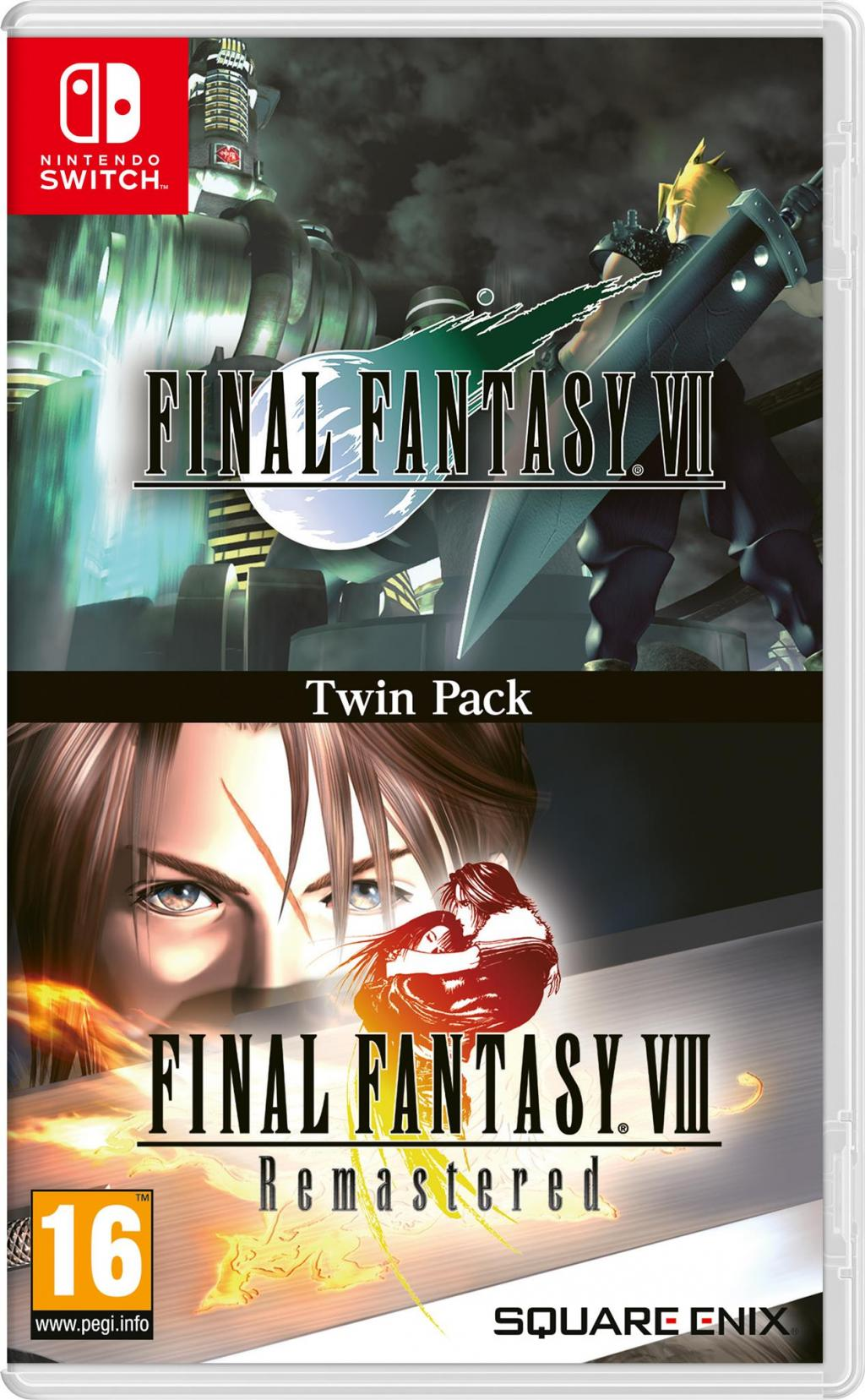 Final Fantasy VII & VIII Twin Pack_1