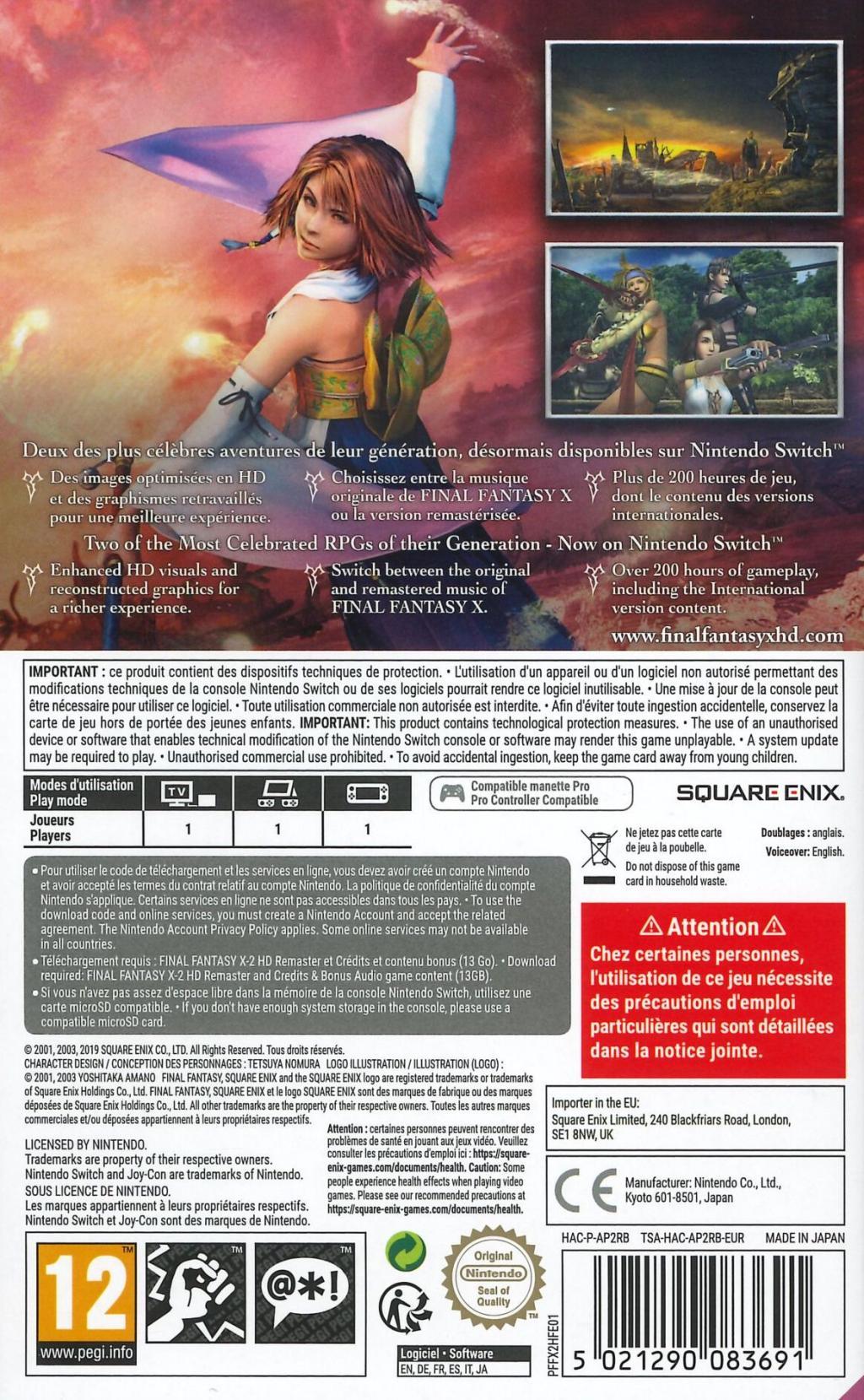 Final Fantasy X/X-2 HD Remaster_2