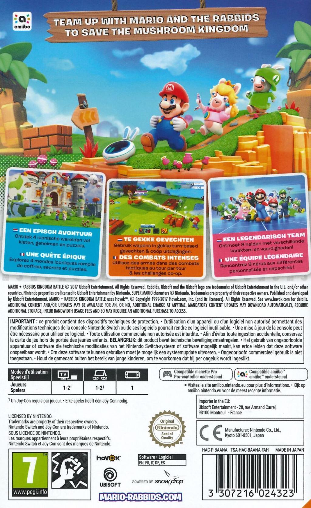Mario + Rabbids Kingdom Battle_2