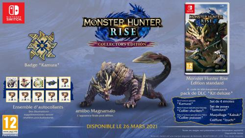 Monster Hunter Rise Collectors Edition