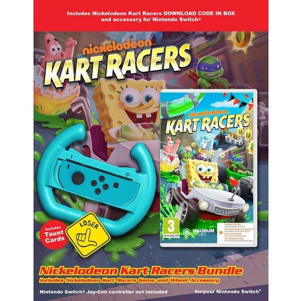 Nickelodeon Kart Racers  (CIB) + Volant_1