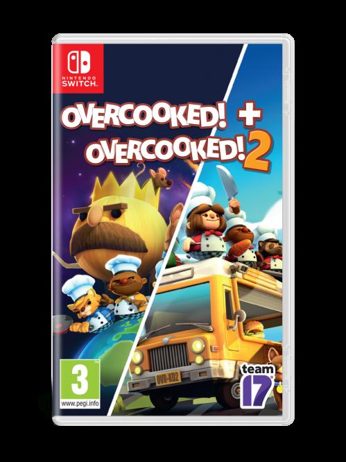 Overcooked Double Pack - Overcooked 1 & Overcooked 2