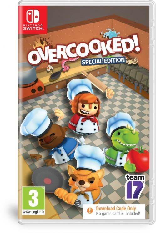 Overcooked! Special Edition (Code in Box)