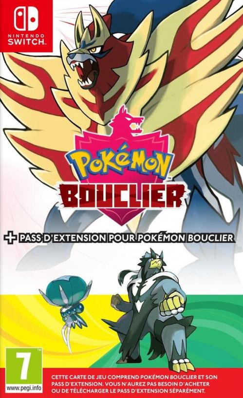 Pokemon Bouclier + Pack Expansion
