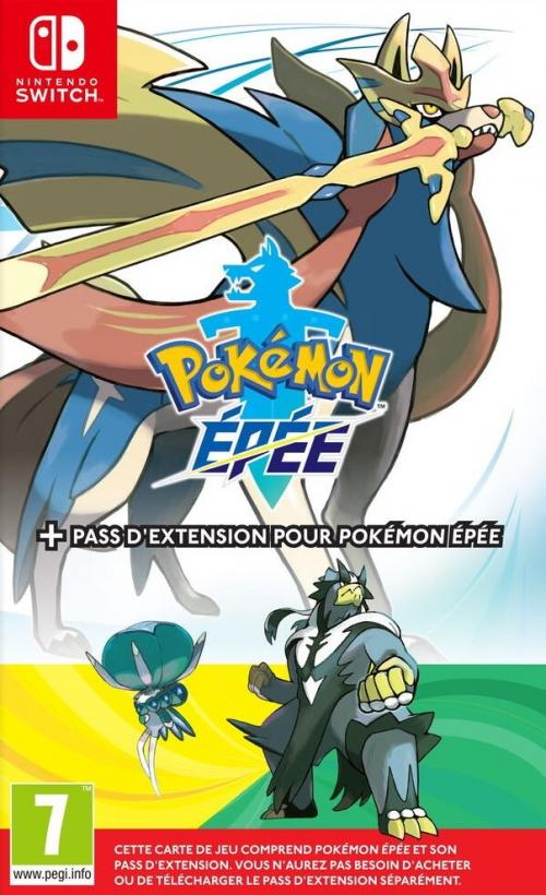 Pokemon Epée + Pack Expansion