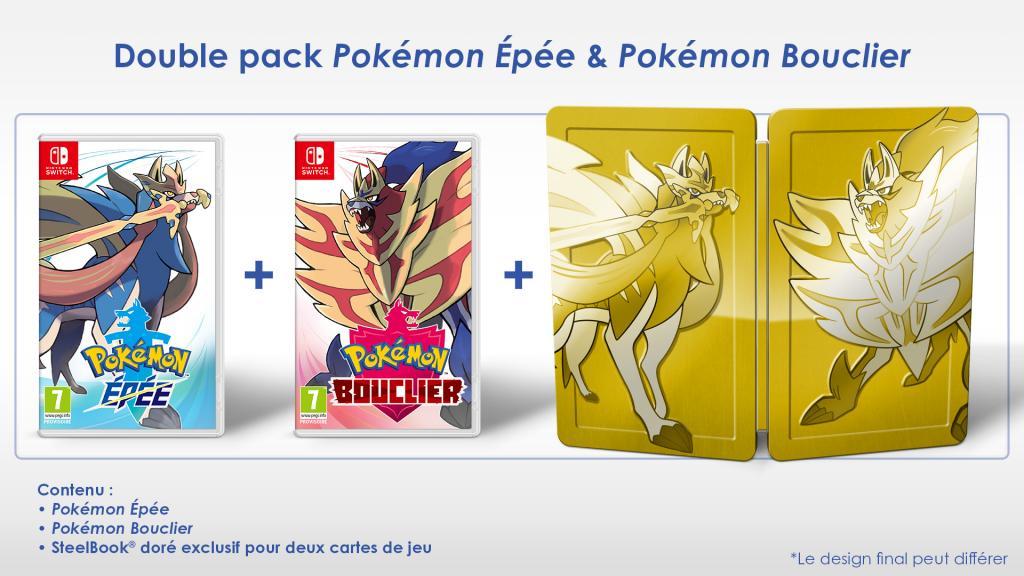 Pokemon Epée + Bouclier Special Edition