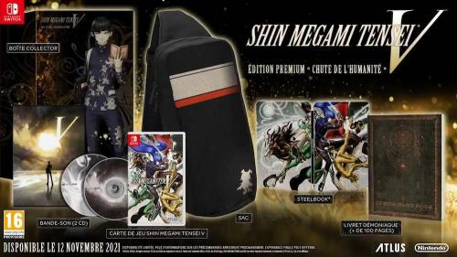 Shin Megami Tensei V - Fall Of Man Premium Edition
