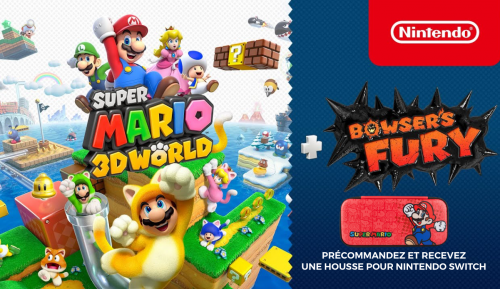 Super Mario 3D World + Bowser Fury + Mario Case Gratuit