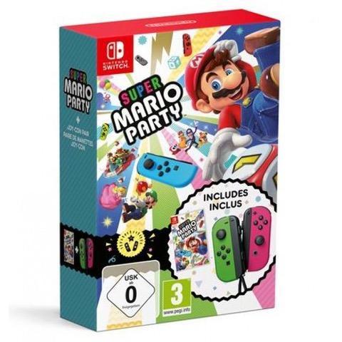 Super Mario Party + Joy-Con Green / Pink Bundle