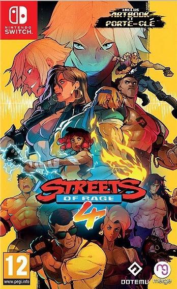 Streets of Rage 4 (Artbook et Porte-Clef inclus)