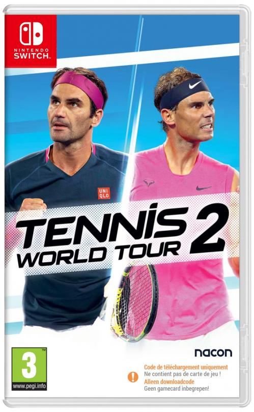 Tennis World Tour 2 ( Code in the Box)