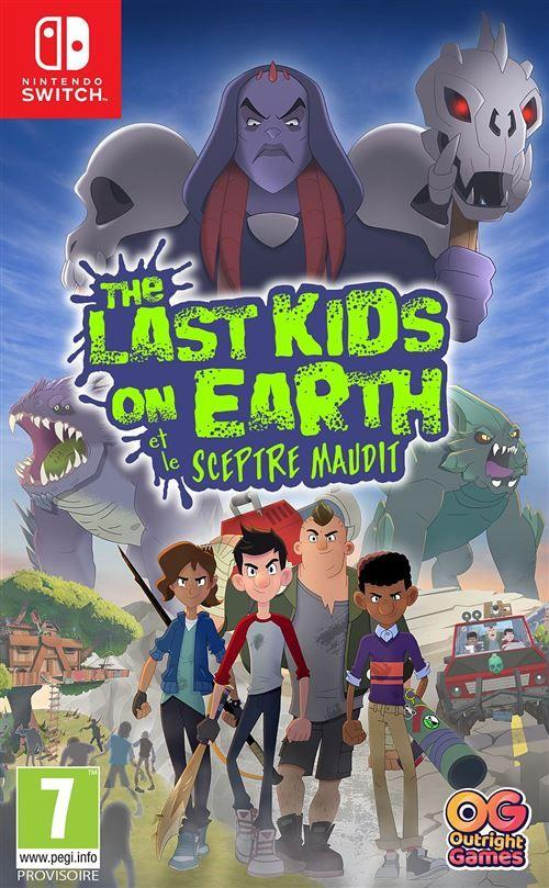 The Last Kids on Earth et le Sceptre Maudit