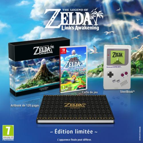 The Legend of Zelda : Link's Awakening  Edition Limitée