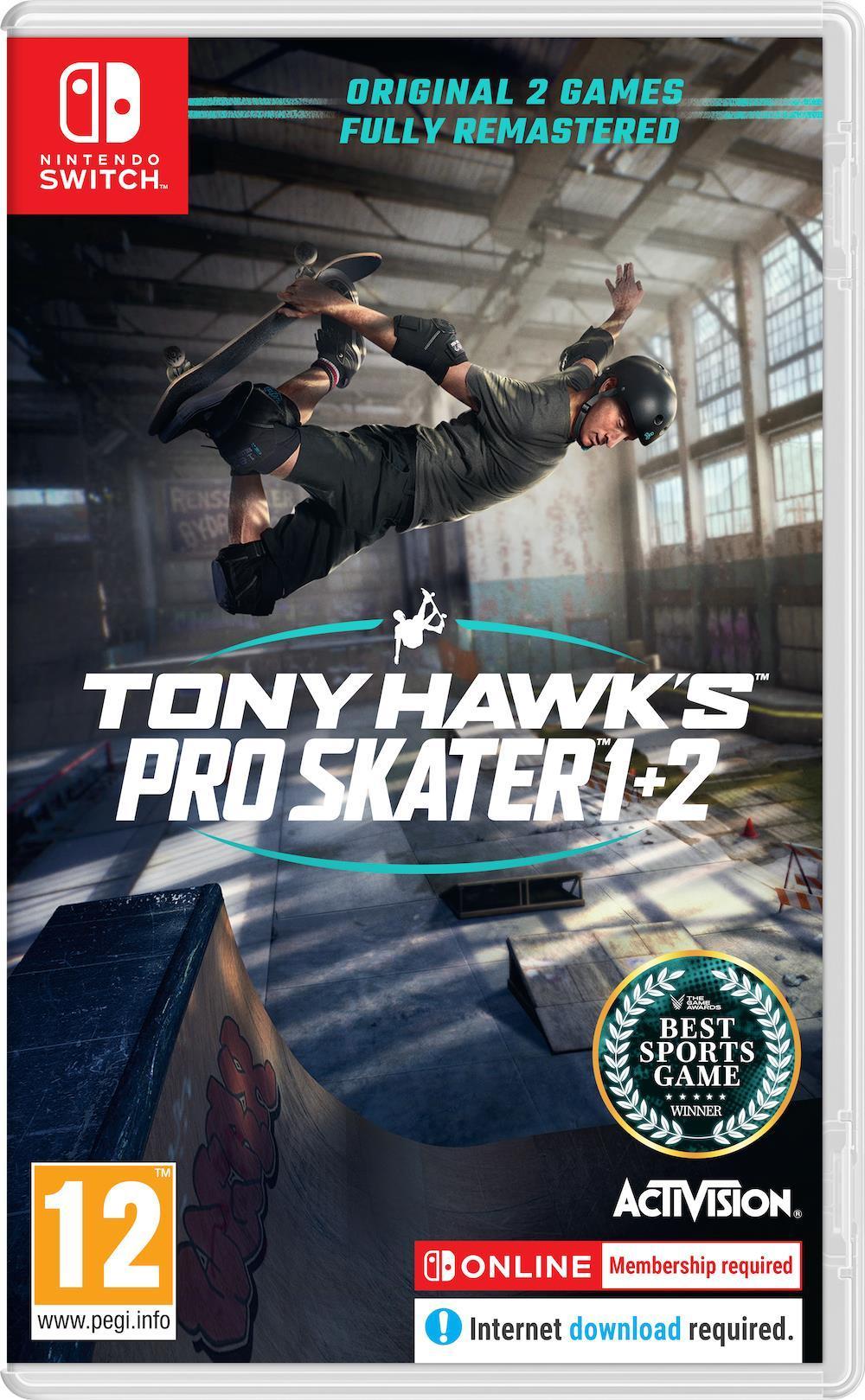 Tony Hawk's Pro Skater 1+2_1