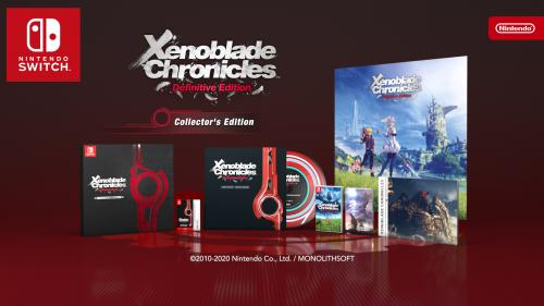 Xenoblade Chronicles Definitive Edition - Collector's Edition