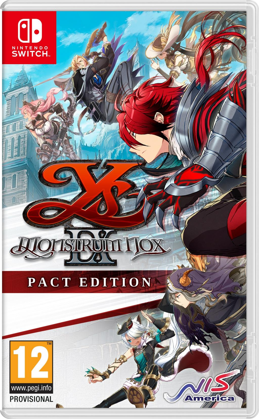 Ys IX : Monstrum Nox Pact Edition_1