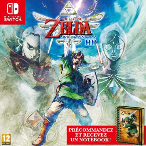 The Legend of Zelda Skyward Sword HD + Notebook