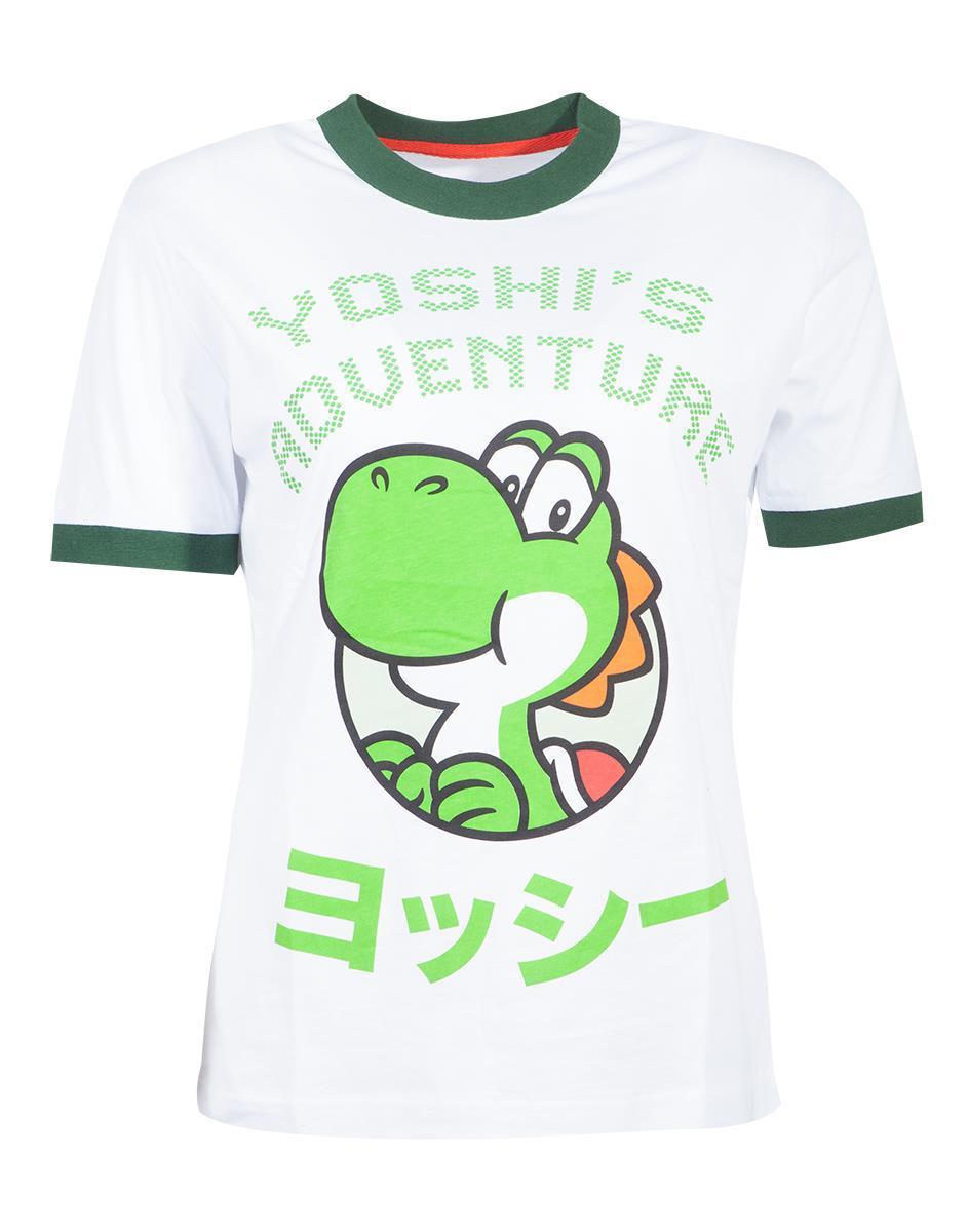 NINTENDO - Super Mario Yoshi Adventure Women's Tshirt (S)
