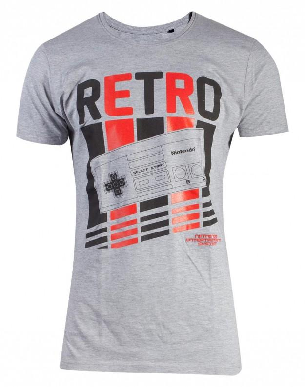 NINTENDO - Retro Nes Men's T-Shirt (S)