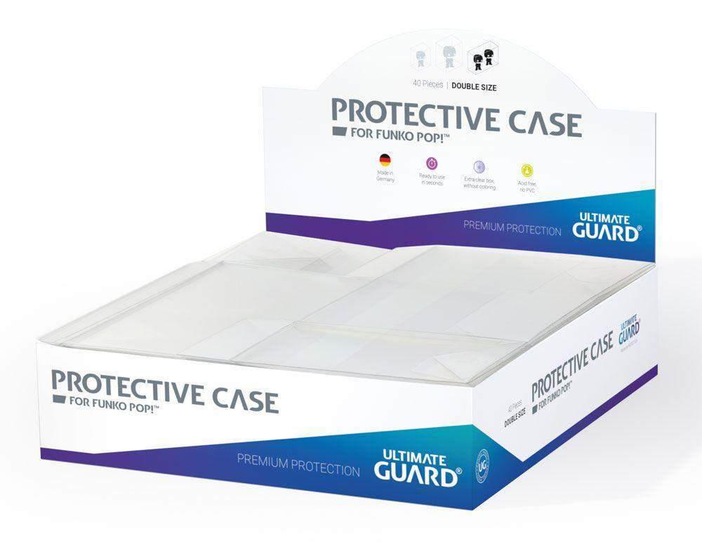 Ultimate Guard - 40 x Protective Case for Funko POP Figure Double Size