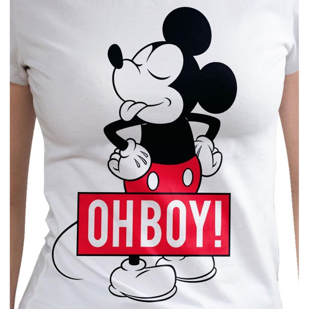 DISNEY - T-Shirt Mickey Oh Boy (L)