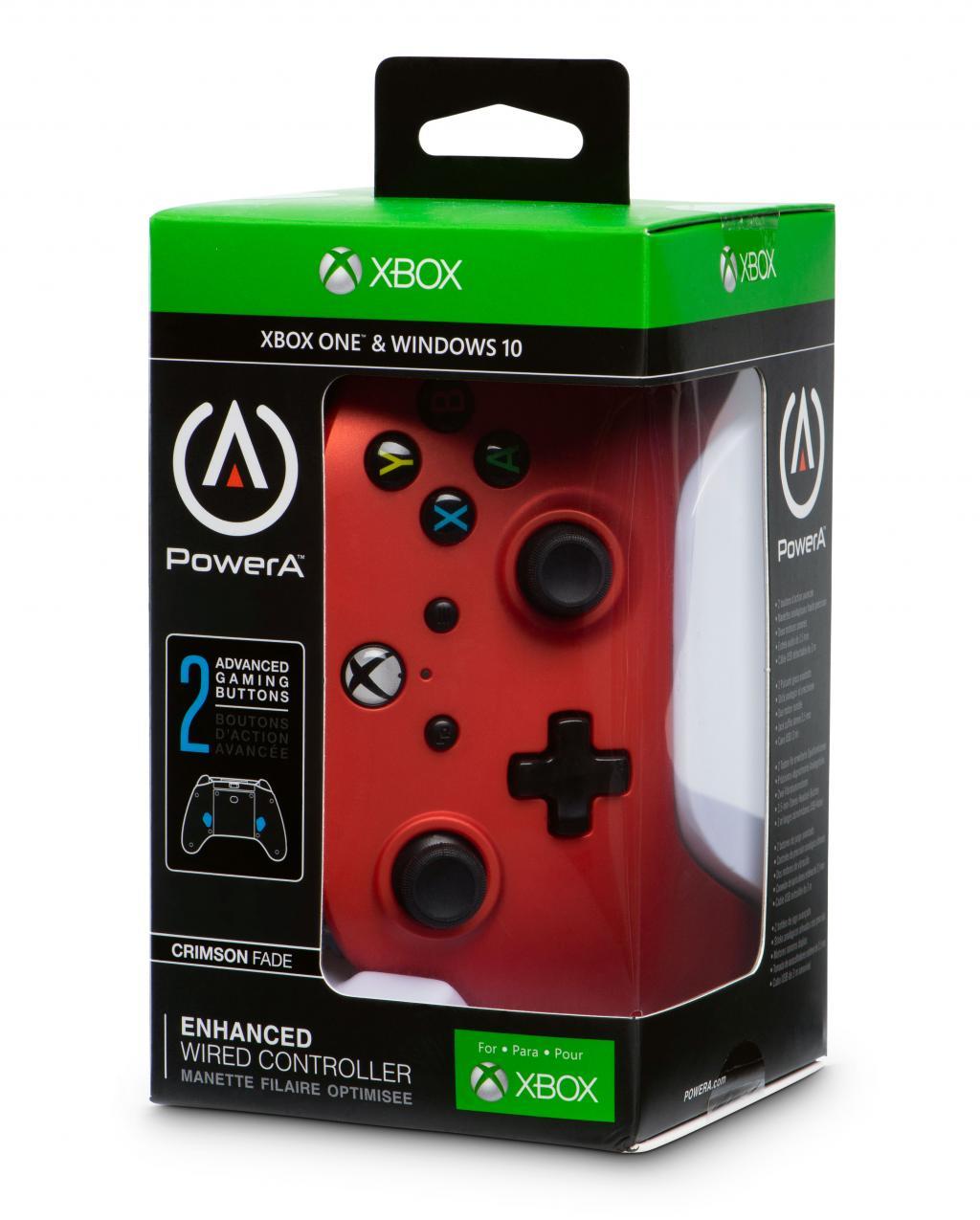 POWER A - Wired Controller Crimson Fade