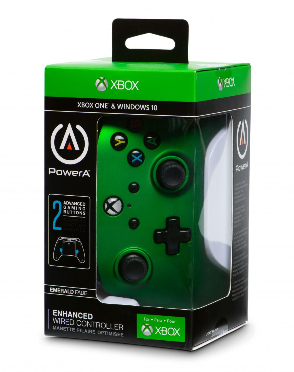 POWER A - Wired Controller Emerald Fade