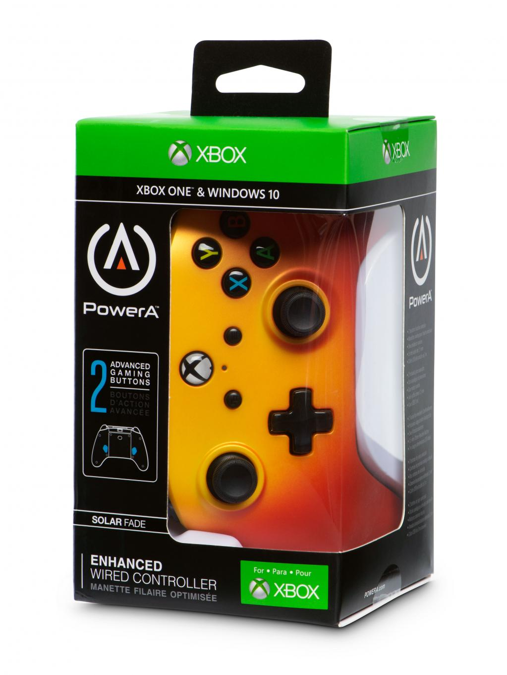 POWER A - Wired Controller Solar Fade