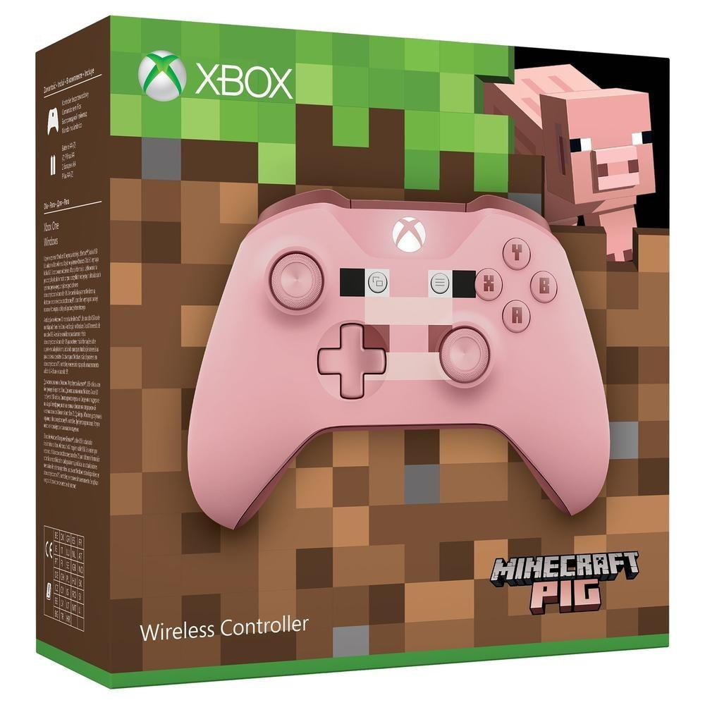 Control Pad Wireless Officiel Minecraft Pig Limited Edition_1