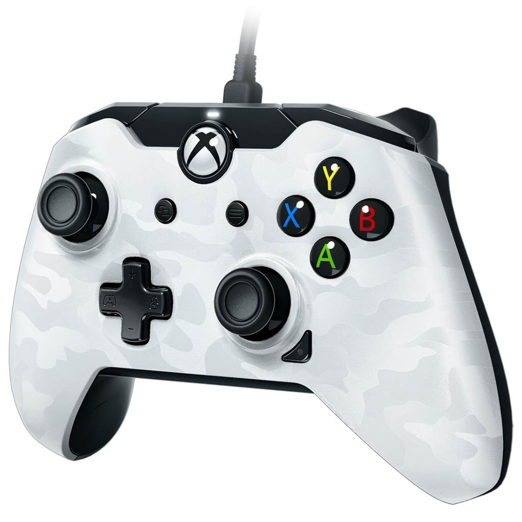 PDP - Wired Controller Official Xbox One Camo White_1
