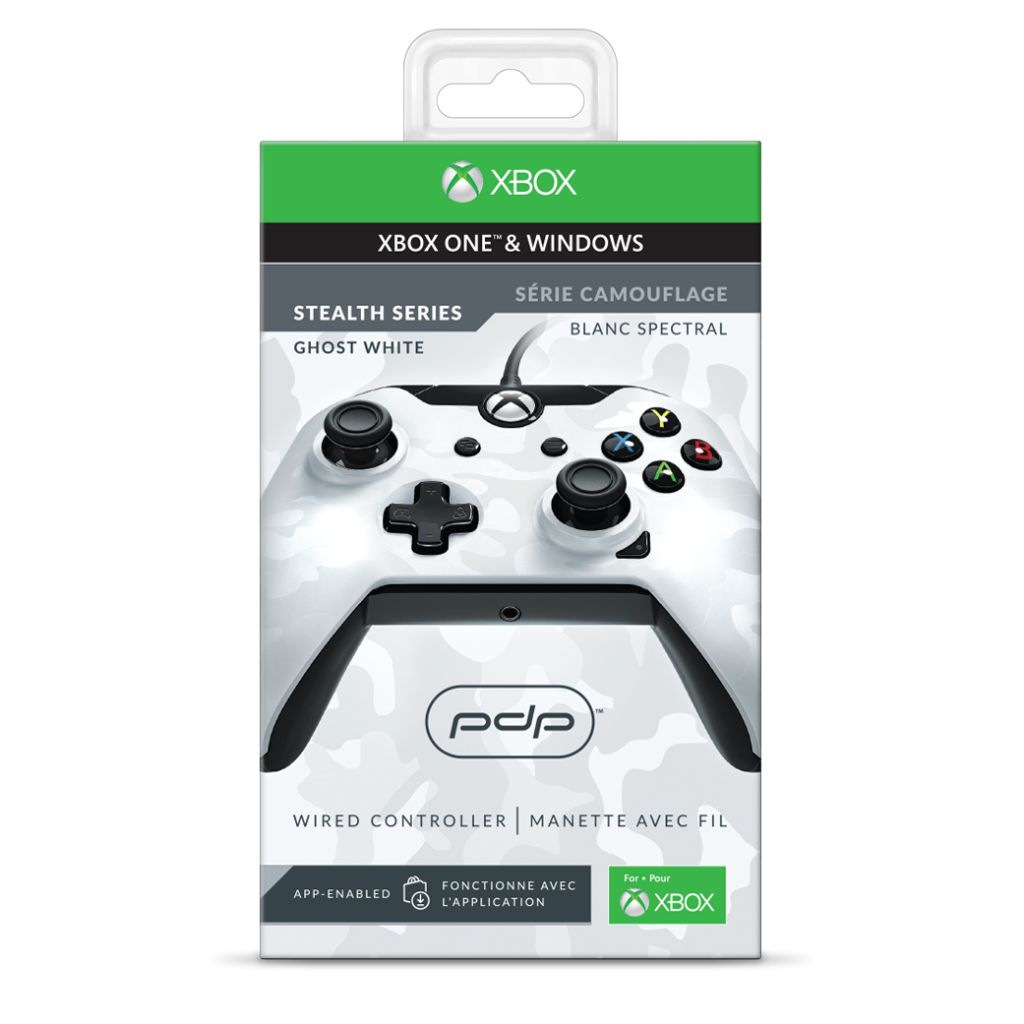 PDP - Wired Controller Official Xbox One Camo White_2