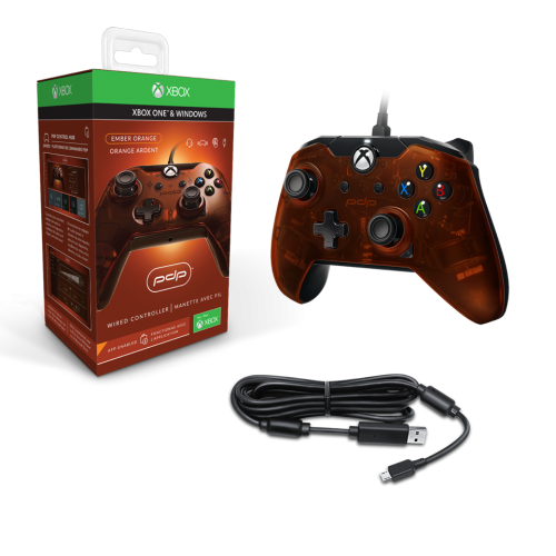 PDP - Wired Controller Official Xbox One Orange