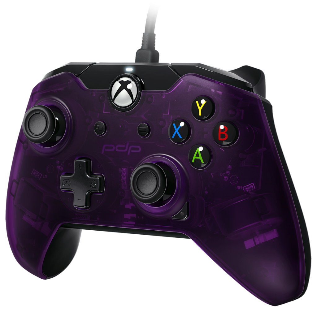 PDP - Wired Controller Official Xbox One Purple  - XBOX Series X_1