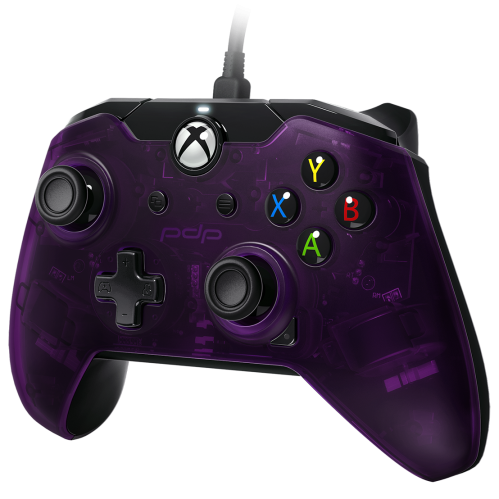 PDP - Wired Controller Official Xbox One Purple