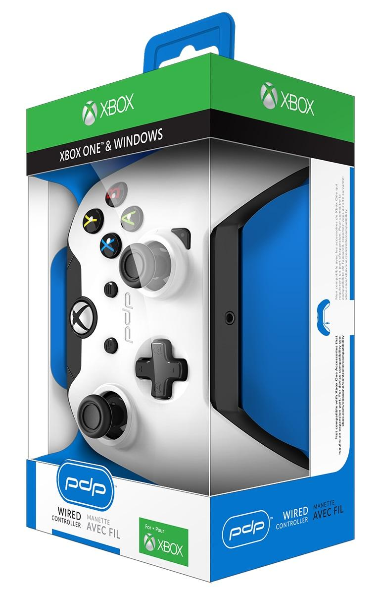 PDP - Wired Controller Official Xbox One White_2