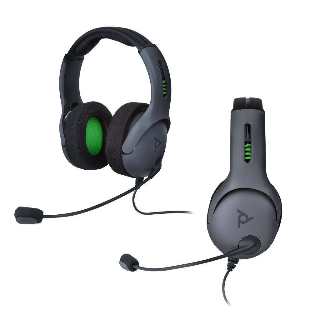 Official Xbox One Wired Headset LVL50 Grey_2