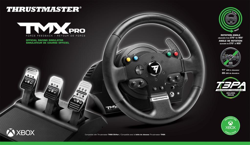 TMX  PRO Force Feedback Steering Wheel XBONE/PC (Thrustmaster)_1