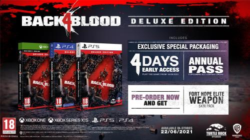 Back 4 Blood Deluxe Edition  - XBOX ONE & XBOX SERIES X