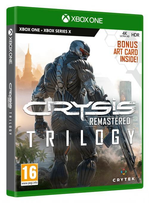 Crysis Trilogy Remastered - XBOX ONE & XBOX SX (BOX UK)