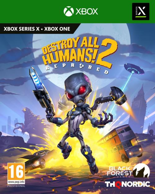 Destroy All Humans 2 - Reprobed  XBOX ONE / XBOX SX