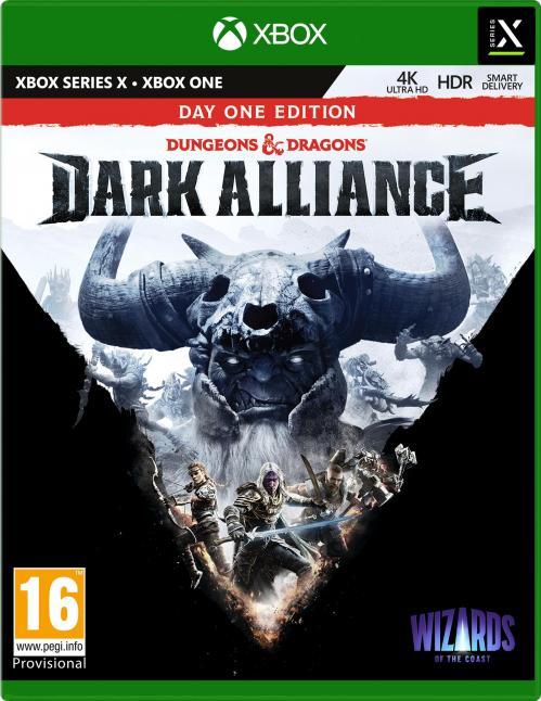 Dungeons & Dragons - Dark Alliance - Day One Edition (BOX UK) XBOX SX